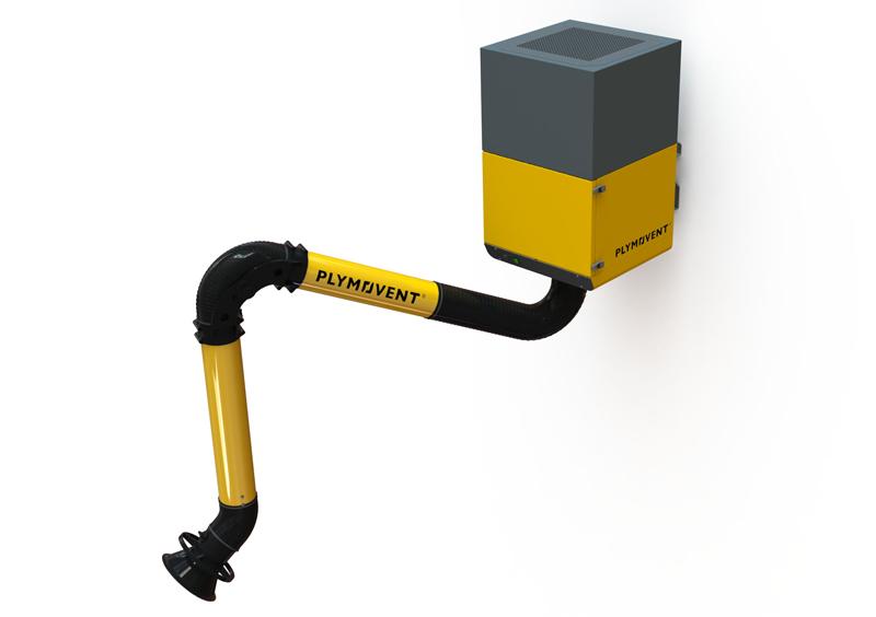 MonoGo Plus - Schweißrauchabsauger mit Metallrohrarm 1